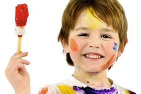 Rules Of Parenting - # - Child Painting Creativity