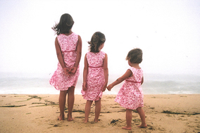 Rules Of Parenting - # - Kids On the Beach Same Clothing