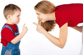 Rules Of Parenting - # - Mother Child Arguing Smile