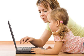 Rules Of Parenting - # - Mother Daughter Computer